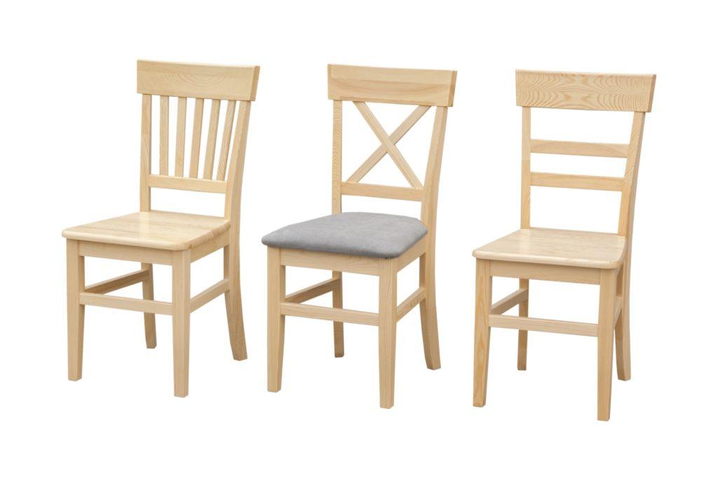 Krzesła sosnowe WGM Pankau Producent mebli z drewna litego! Śliwice, Polska
